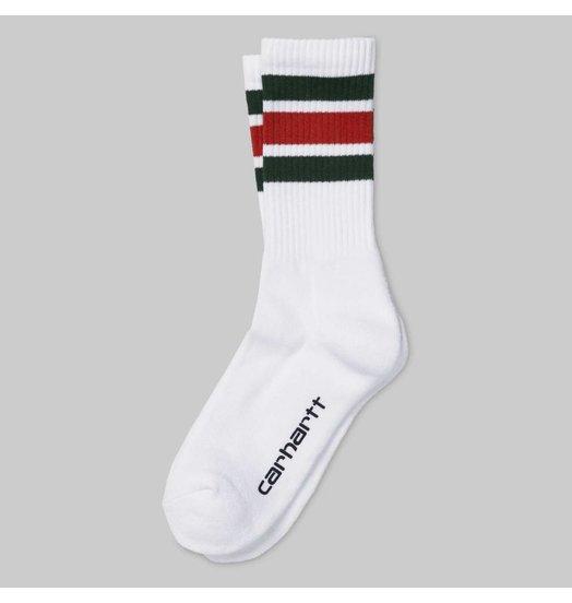 Carhartt WIP Carhartt WIP Griggs Sock Loden Persimmon