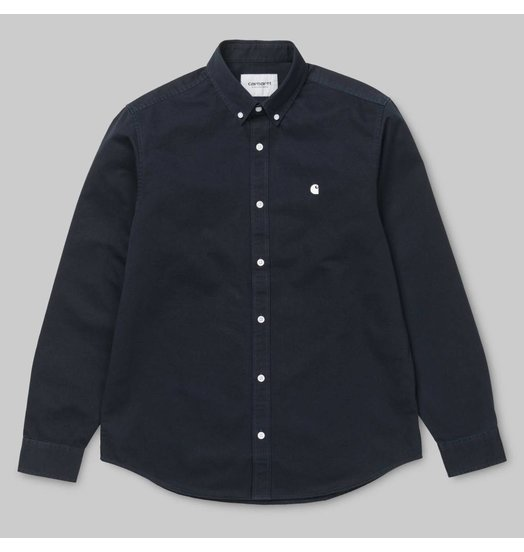 Carhartt WIP Carhartt WIP Madison L/S Shirt - Navy