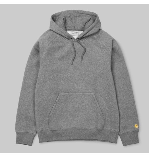 Carhartt WIP Carhartt WIP Chase Hooded Sweatshirt Dark Heather Grey
