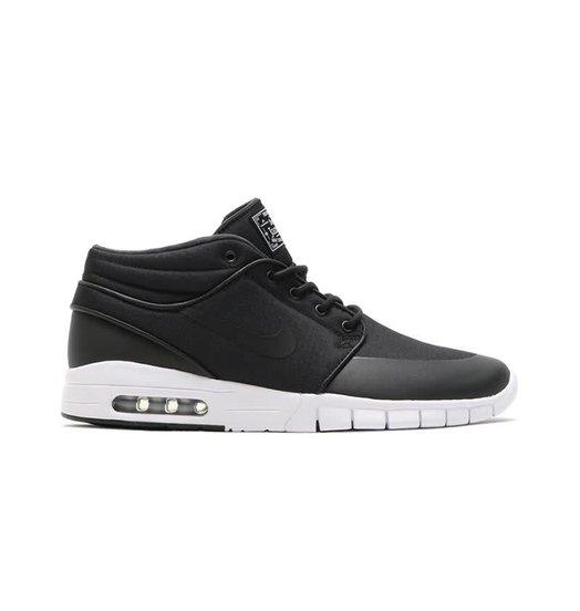 Nike Nike Janoski Max Mid - Black/Black/Metallic Silver