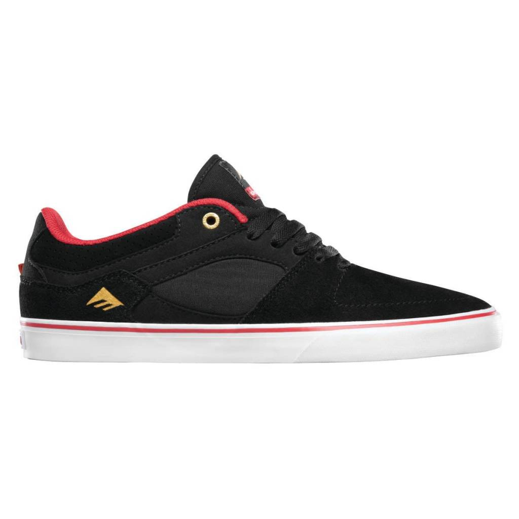Emerica Emerica Hsu Low Vulc X Chocolate - Black/Red/White