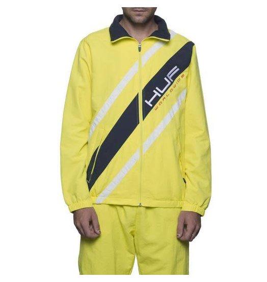 HUF Huf Pallisades Track Jacket - Yellow