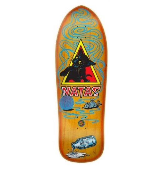 Santa Cruz Santa Cruz Natas SMA Kitten Reissue Deck - Orange Sunburst