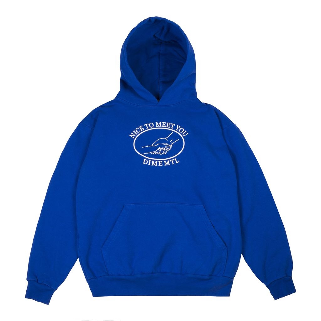 Dime Dime Greetings Hoodie - Royal