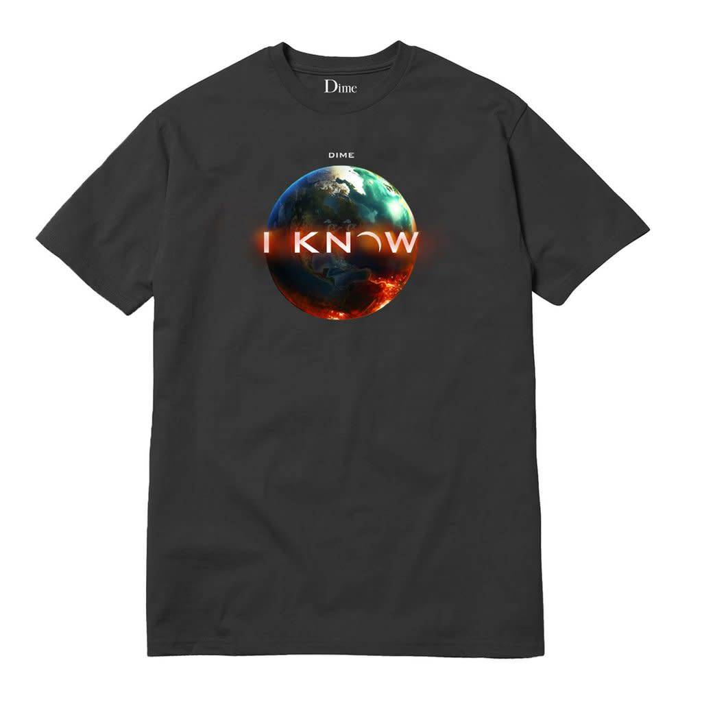 Dime Dime I Know Tee - Off Black