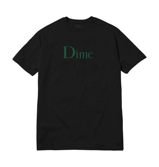 Dime Dime Classic Logo Tee - Black