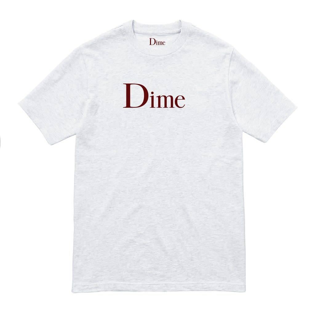 Dime Dime Classic Logo Tee - Ash