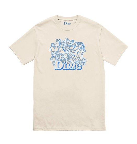 Dime Dime Speakeasy Tee - Cream