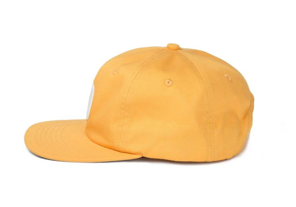 Dime Dime D Star Snapback Cap - Yellow