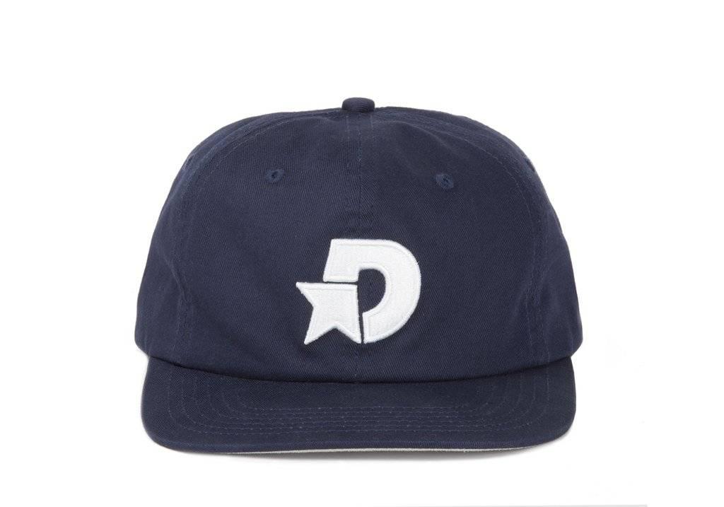 Dime Dime D Star Snapback Cap - Navy