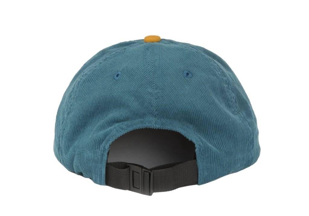 Dime Dime Important Corduroy Cap - Teal