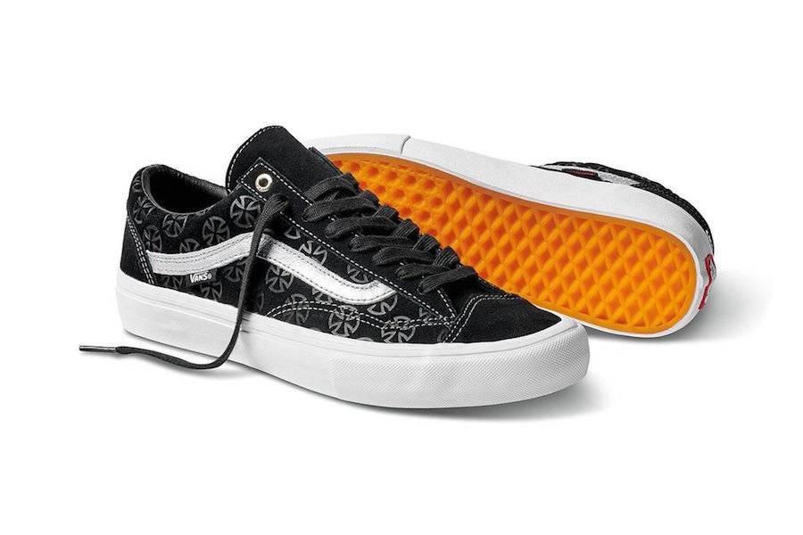 Vans Vans X Independent Style 36 Pro LTD - Black/Silver