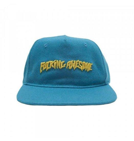 Fucking Awesome Fucking Awesome Classic Logo Wool Cap - Turquoise