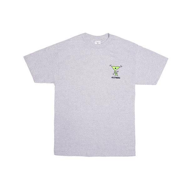 Alltimers Alltimers Action Tee - Heather Grey