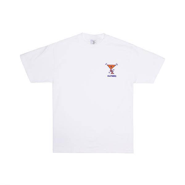 Alltimers Alltimers Action Tee - White