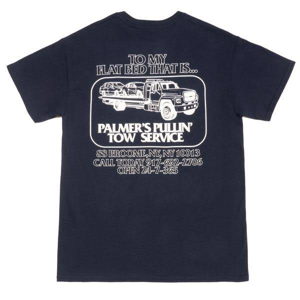Call Me 917 917 Hook Up Tee Navy