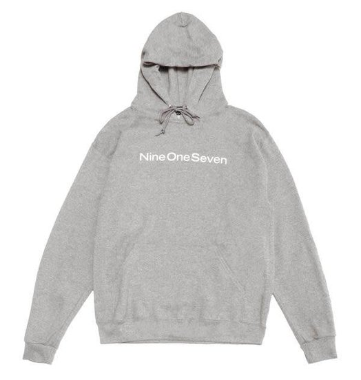 Call Me 917 Call Me 917 Logotype Pullover Hood - Heather Grey