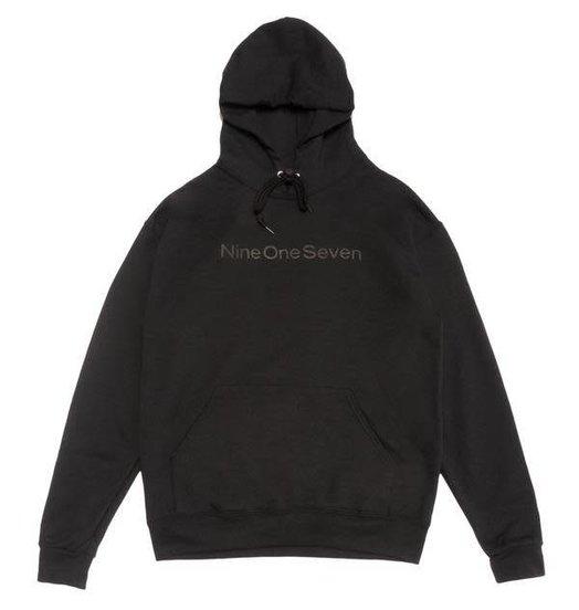 Call Me 917 Call Me 917 Logotype Pullover Hood - Black