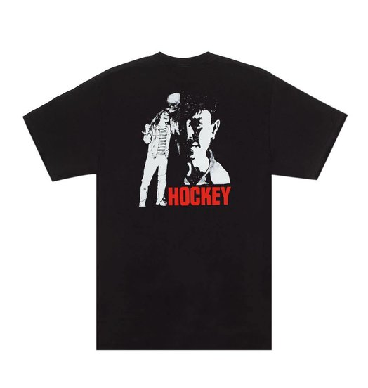 Hockey Hockey Friend Tee - Black