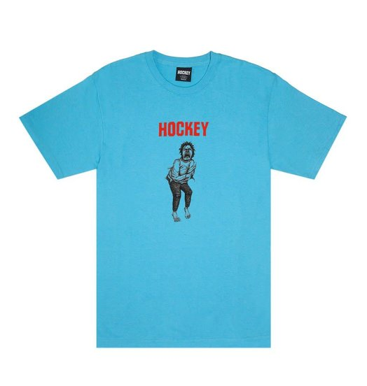 Hockey Hockey Hatch Tee - Aquatic Blue