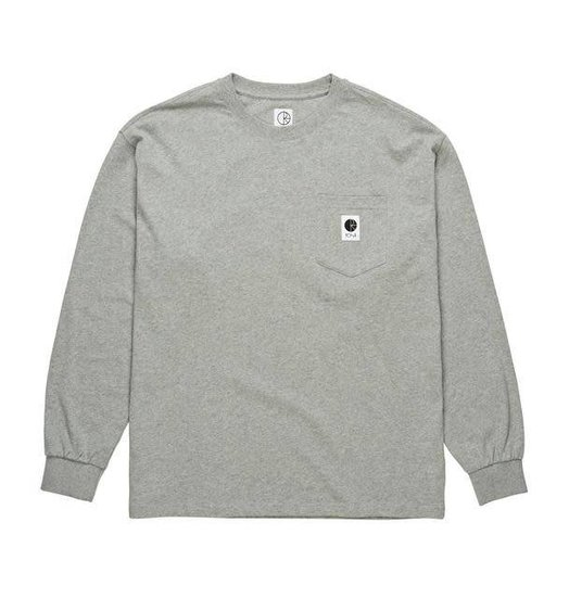 Polar Polar Pocket Longsleeve - Heather Grey