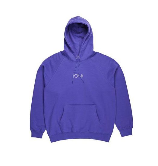 Polar Polar Default Hoodie - Deep Purple