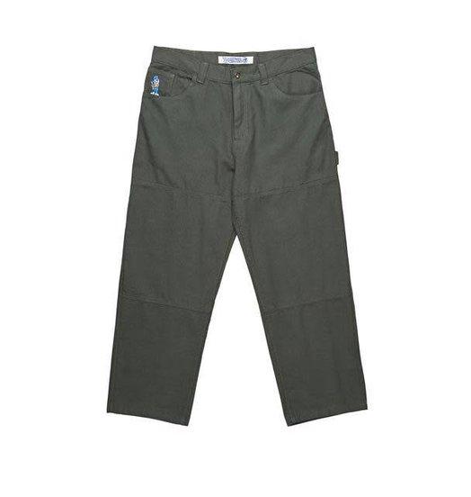Polar Polar '93 Canvas Pants - Grey Green