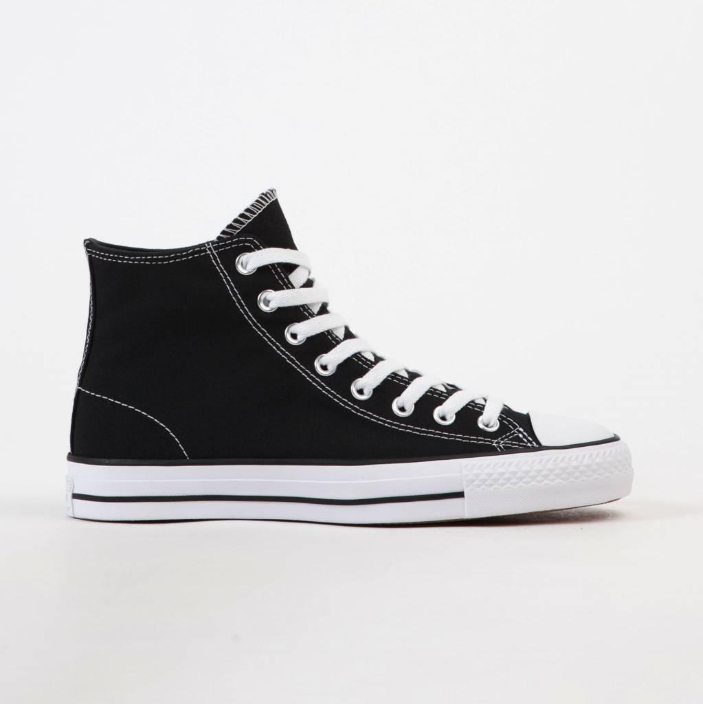 17443c00de45 Converse Canvas CTAS Hi Pro - Black White - Ninetimes Skate Shop