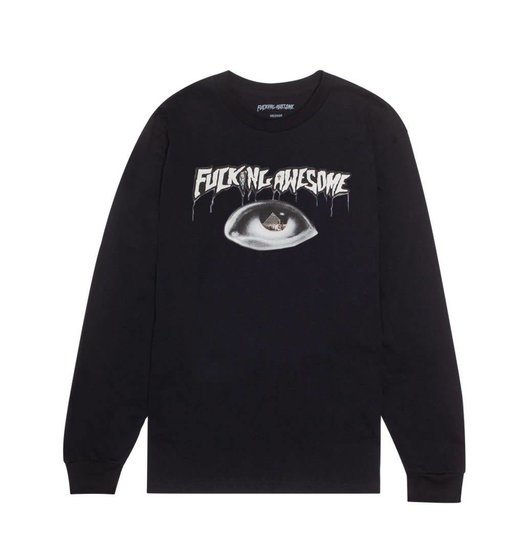 Fucking Awesome Fucking Awesome Pyramid Longsleeve - Black