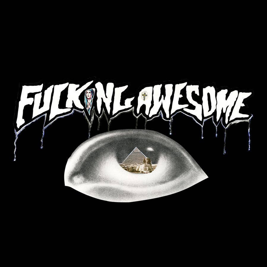 Fucking Awesome Fucking Awesome Pyramid Longsleeve - Black