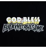 Fucking Awesome Fucking Awesome God Bless FA Hoodie Black