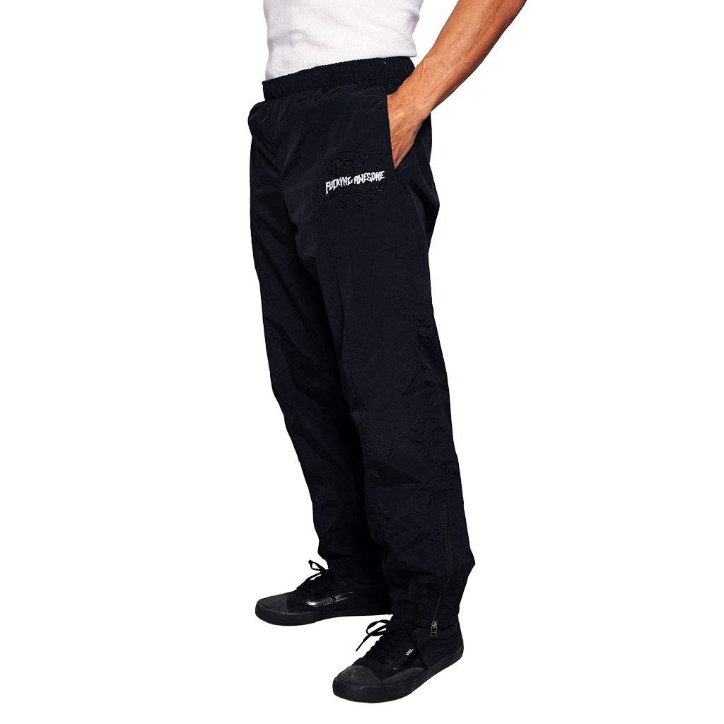 Fucking Awesome Fucking Awesome Spiral Track Pants - Black