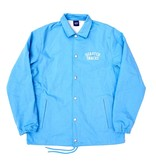 Quartersnacks Quartersnacks Cotton Canvas Coach Jacket - Baby Blue