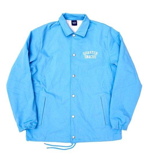 Quartersnacks Quartersnacks Cotton Canvas Coach Jacket - Baby Blue
