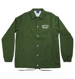 Quartersnacks Quartersnacks Cotton Canvas Coach Jacket - Olive