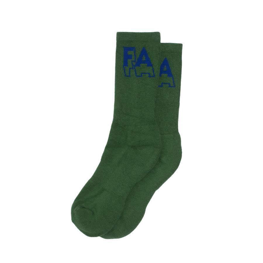 Fucking Awesome Fucking Awesome 3D Socks - Green