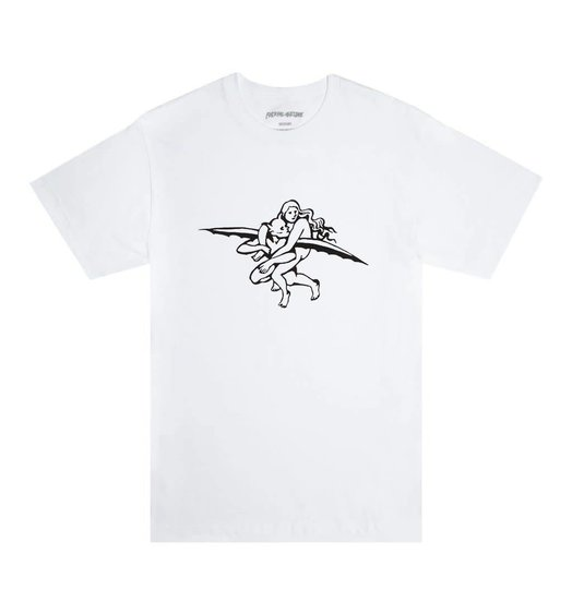 Fucking Awesome Fucking Awesome Flying Demon Tee - White