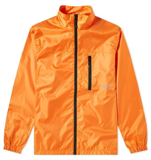 6be006f1dc22e Stussy Stussy Micro Rip Jacket Orange