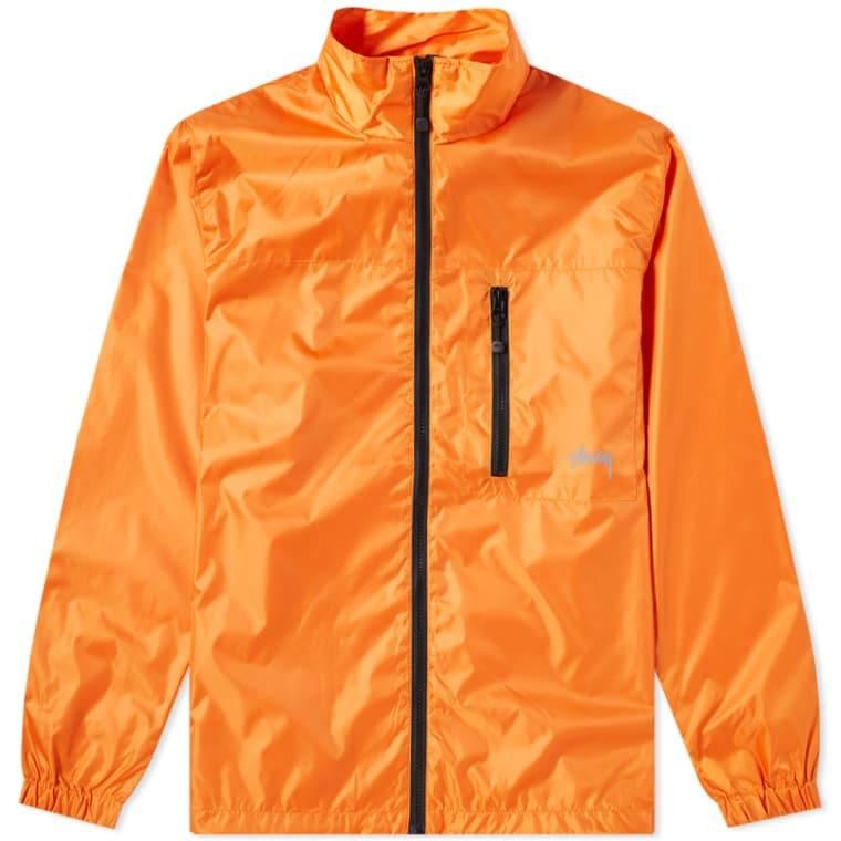 Stussy Stussy Micro Rip Jacket Orange