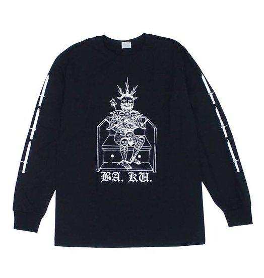BA.KU. BA.KU. Barrier Kult Standard Longsleeve - Black