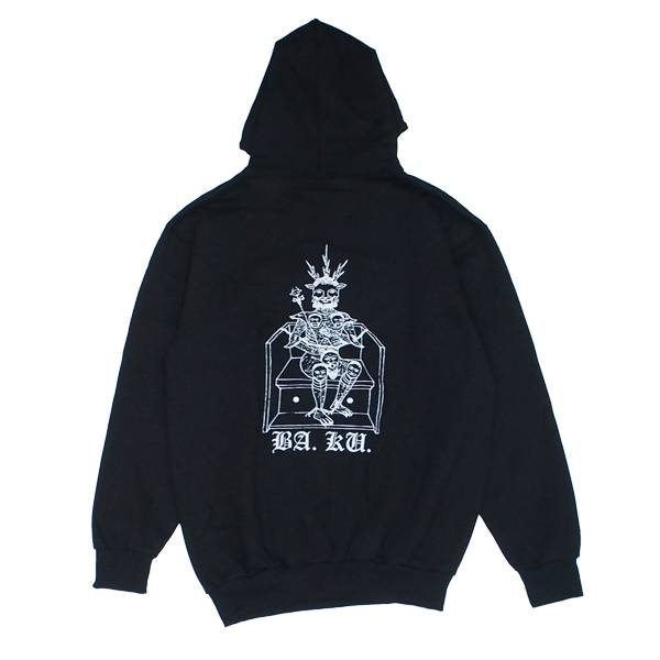BA.KU. BA.KU. Barrier Kult Standard Hoodie - Black