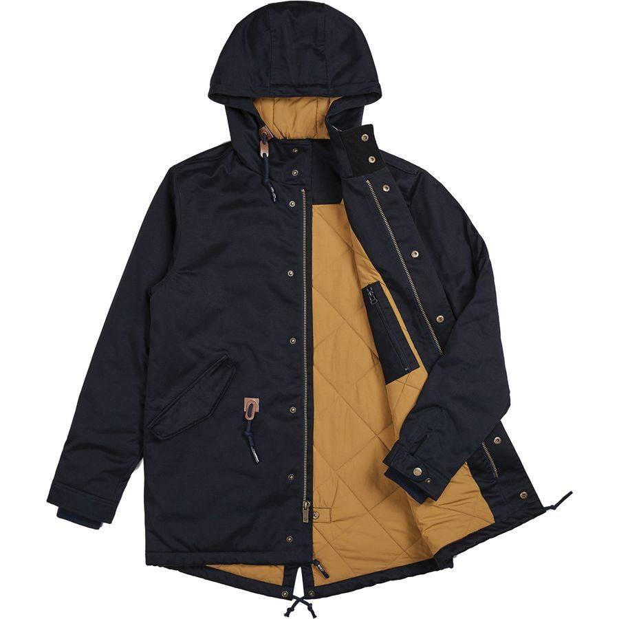 Brixton Brixton Monte Jacket - Navy/Khaki