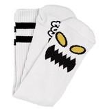 Toy Machine Toy Machine Monster Face Socks - White