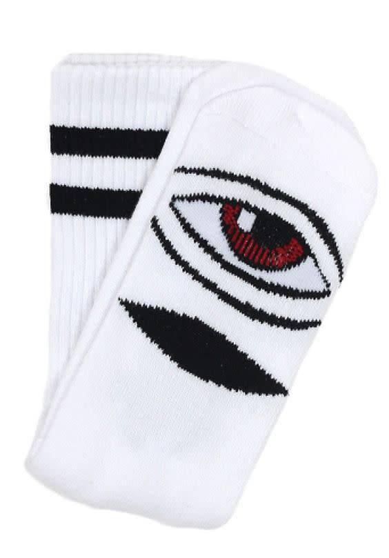 Toy Machine Toy Machine Sect Eye Socks - White