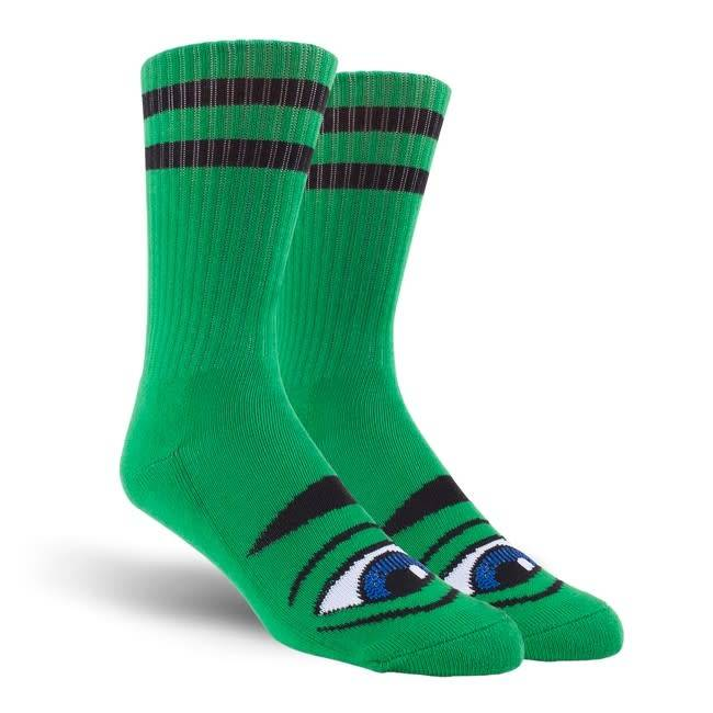 Toy Machine Toy MachineSect Eye Socks - Kelly Green