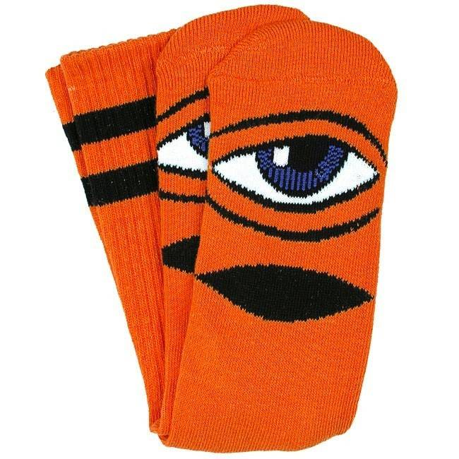 Toy Machine Toy Machine Sect Eye Socks - Orange