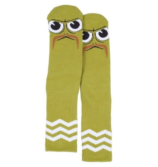 Toy Machine Toy Machine Turtle Stache Socks - Pistachio