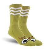 Toy Machine Toy Machine Turtle Stache Socks - Pistachio