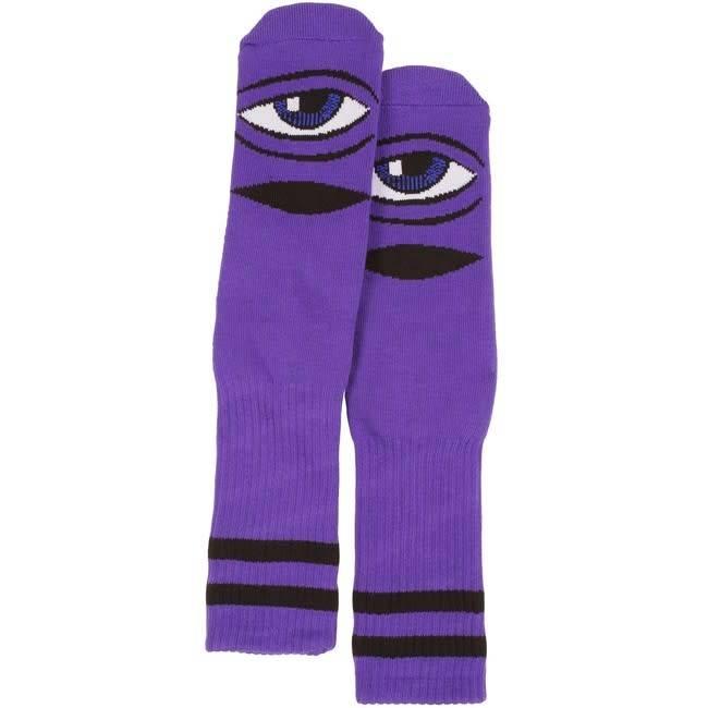 Toy Machine Toy Machine Sect Eye Socks - Purple