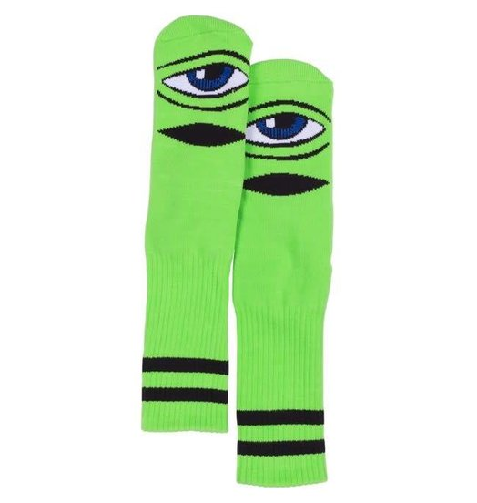 Toy Machine Toy Machine Sect Eye Socks - Lime